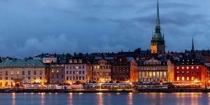 Cosa fare a Stoccolma vista città notte