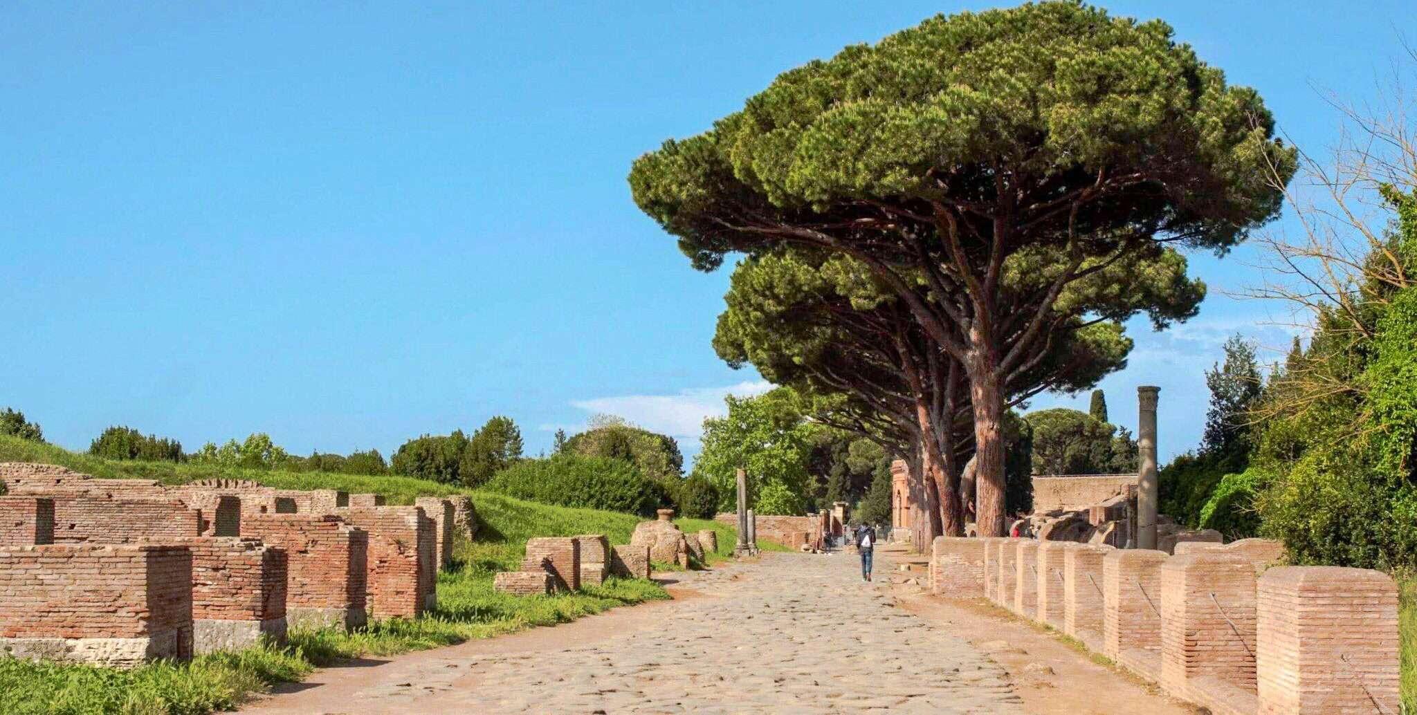 Cosa vedere ad Ostia Antica strada Roma