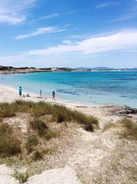 Cosa fare a Formentera: spiaggia