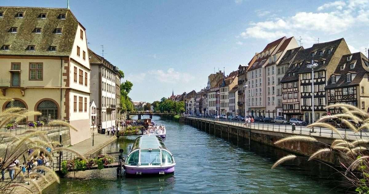 Cosa vedere a Strasburgo canale tour