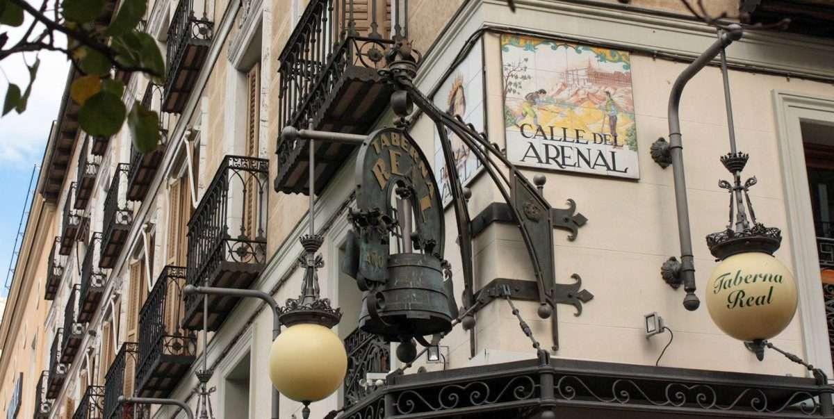 Madrid in 3 giorni Taberna Real palazzo storico