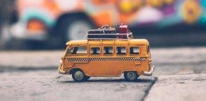 Regali per viaggiatori hippie van Wolkswagen