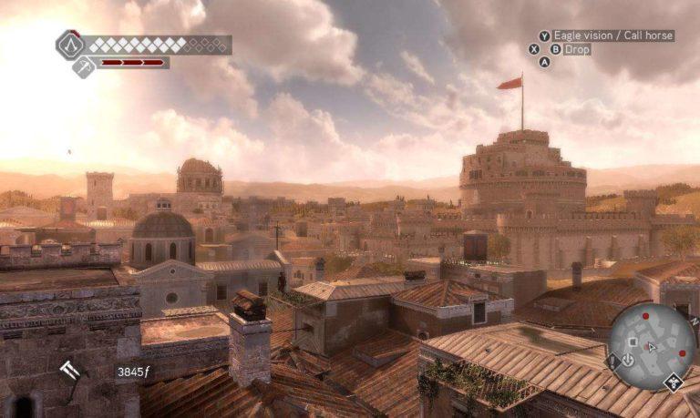 Assassins Creed Brotherhood Roma videogiochi